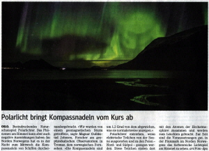 Polarlicht Main Echo 24.10.2014